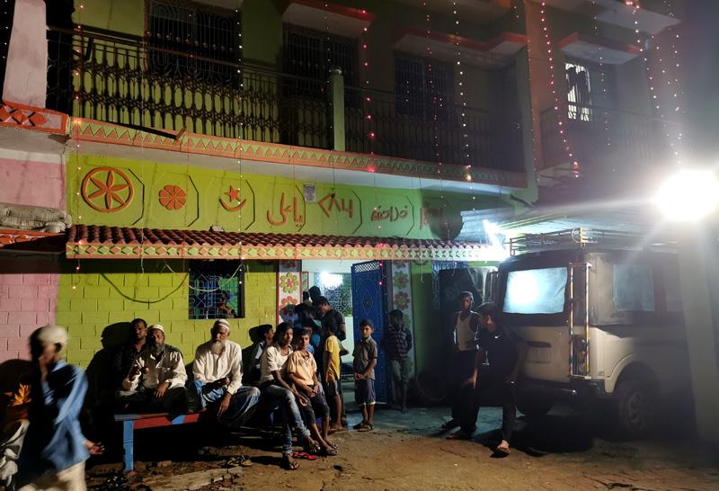 インド 結婚式の家