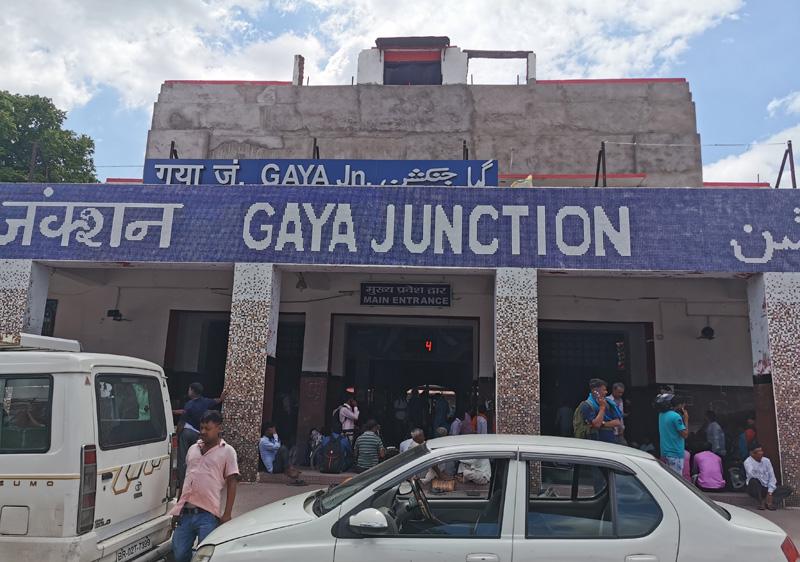 インド ガヤ駅