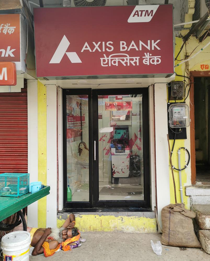 インド ATM 銀行