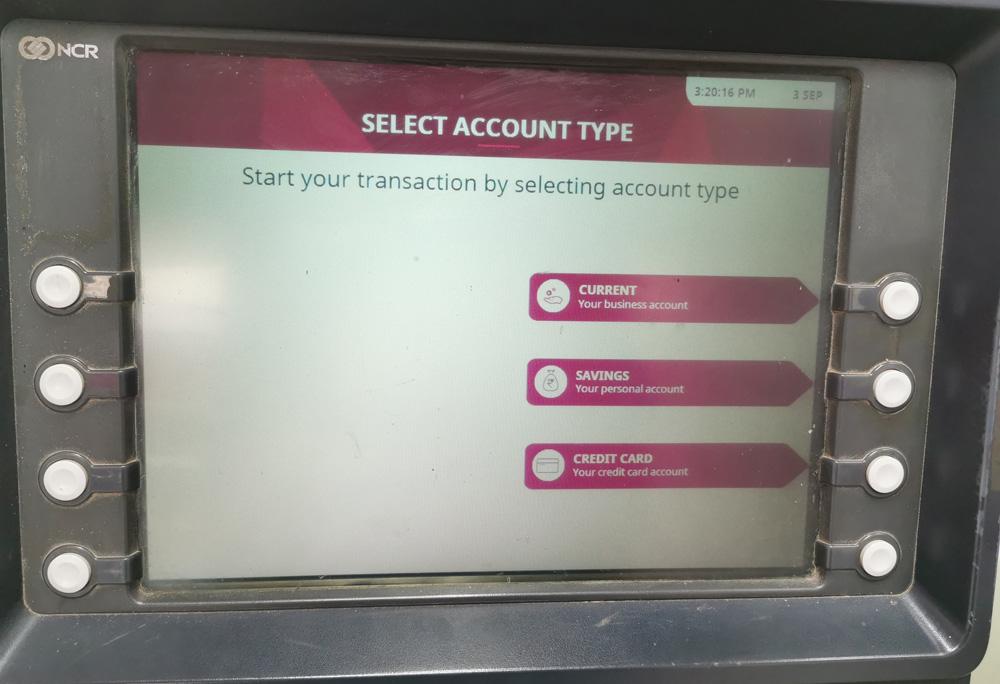 インド ATM キャッシュカード