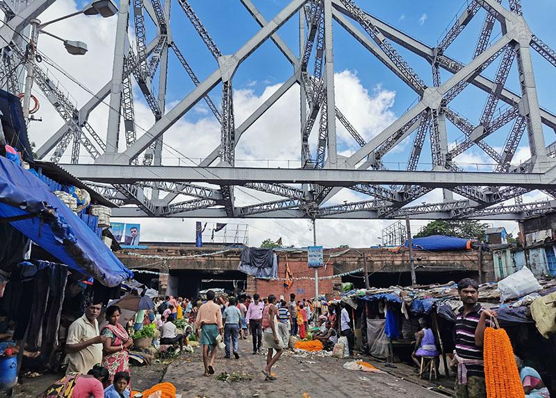 コルカタ ハウラー橋