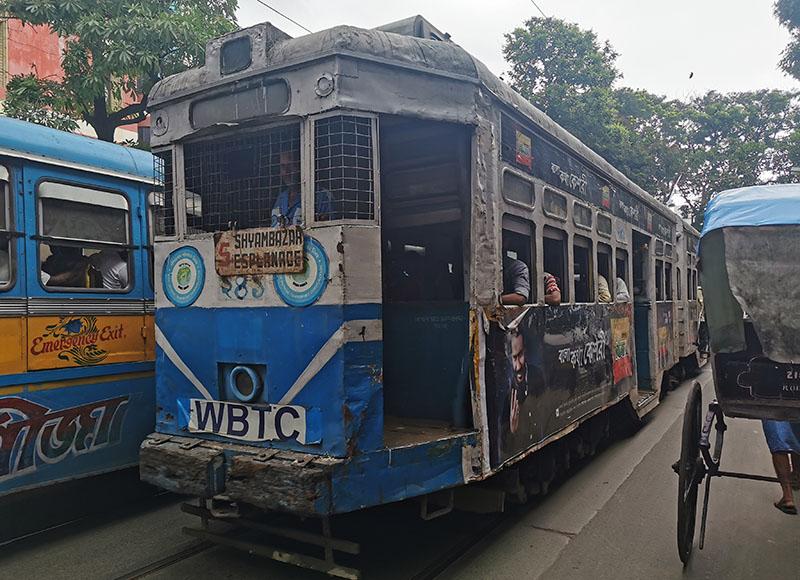 コルカタ 路面電車