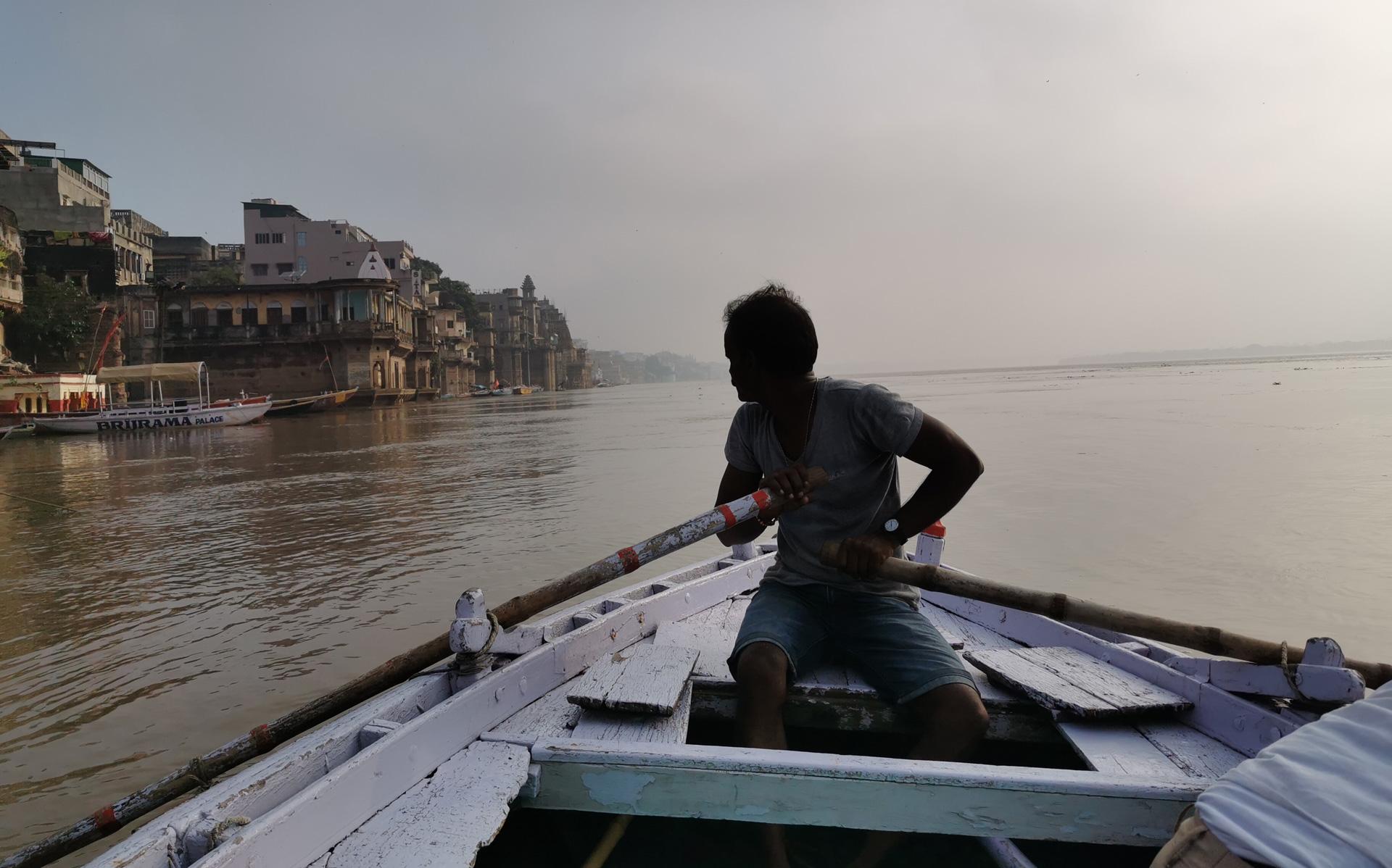 バラナシボート