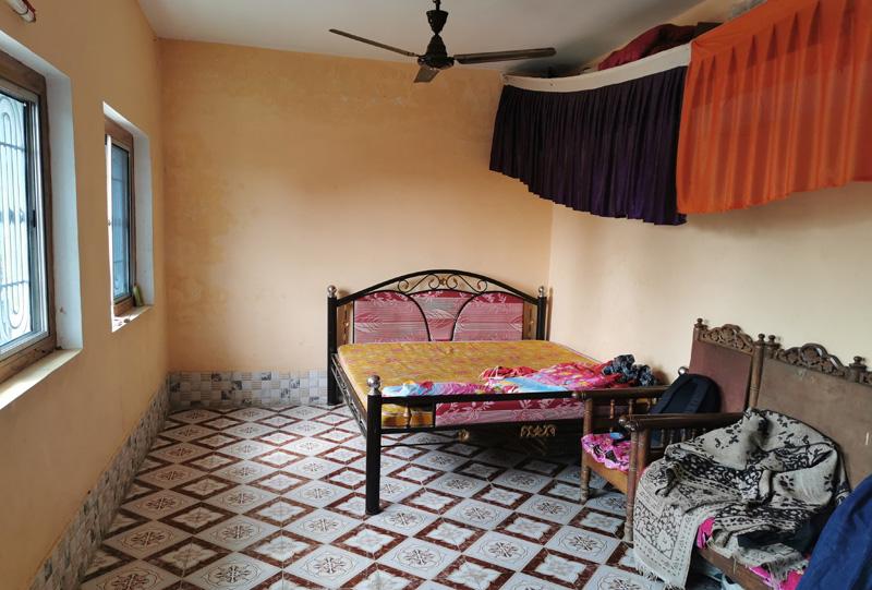 インド 田舎の家