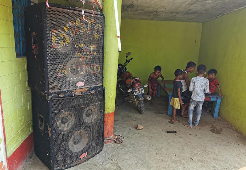 インド サウンドシステム