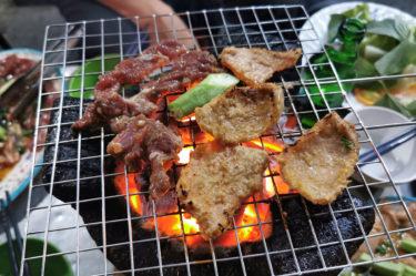 ホーチミン ヤギ 焼肉